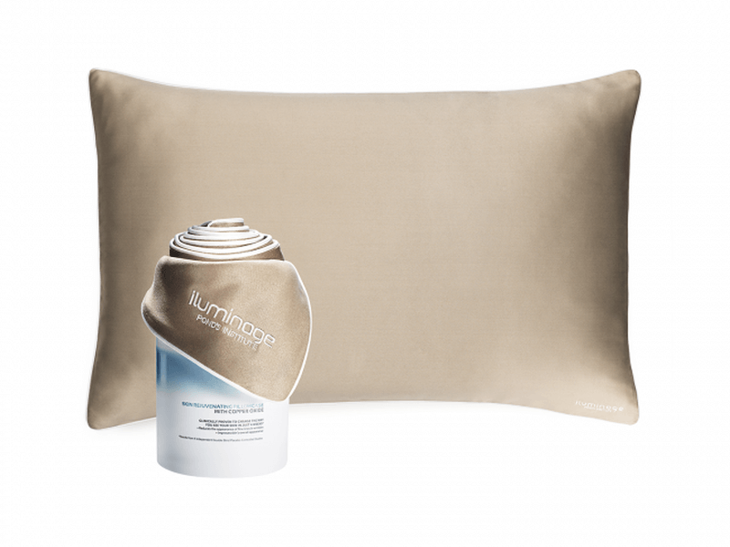 Iluminage claims that these pillowcases are clinically proven to encourage the appearance of younger looking skin in four weeks.