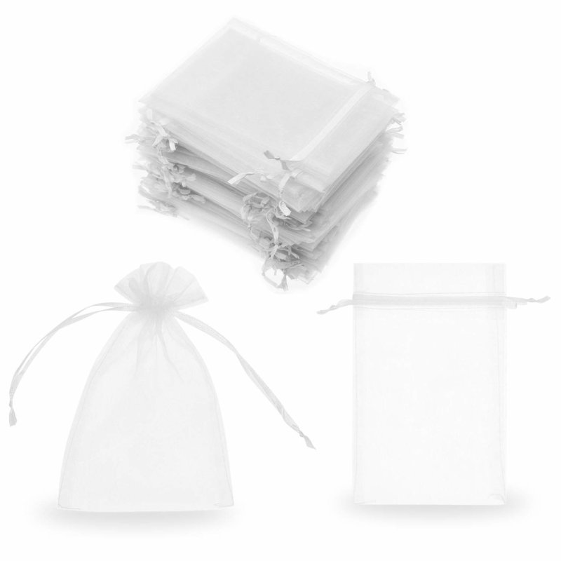 sheer organza gift pouches