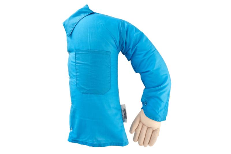 novelty blue-shirted boyfriend pillow