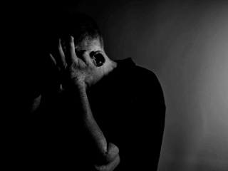 Sleep and Depression depressed man