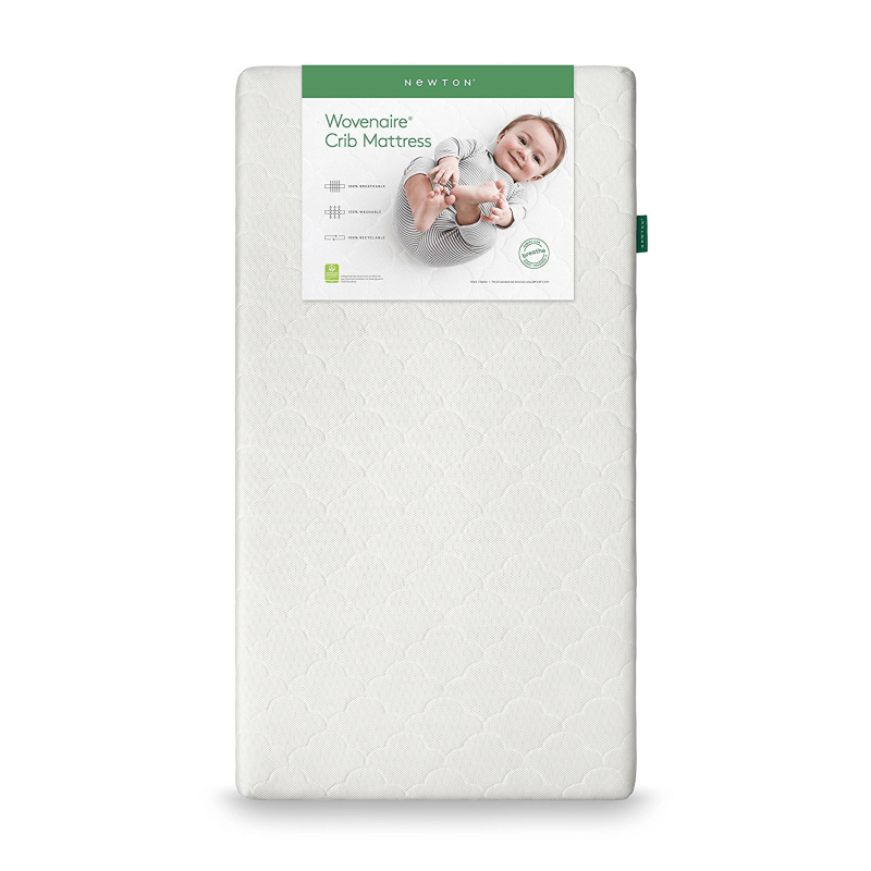 Newton Wovenaire Crib Mattress against white background