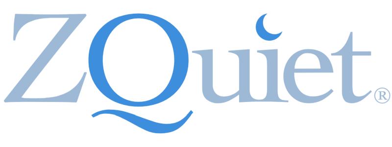 ZQuiet logo on white background