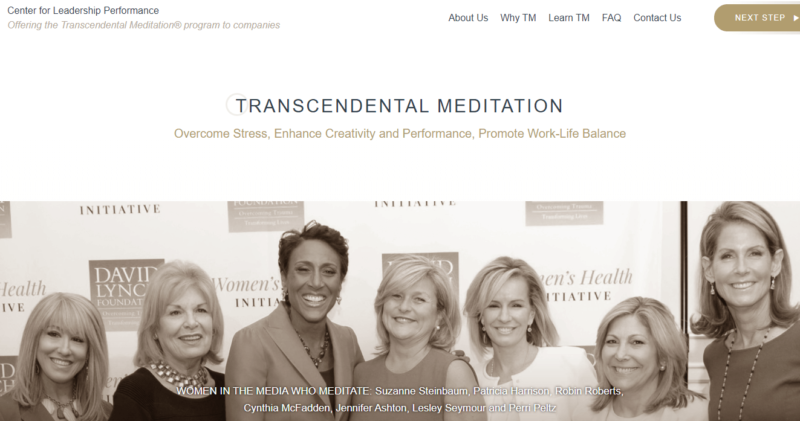Center for Leadership Performance's transcendental meditation blog