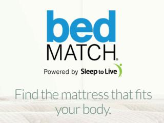 Modernizing Mattress Shopping bedMATCH logo header