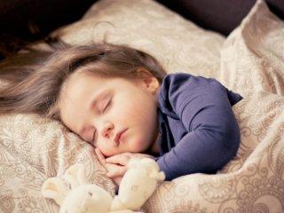 toddler sleeping soundly
