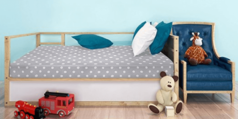 Milliard Crib and Toddler Bed Mattress on Toddler Bed