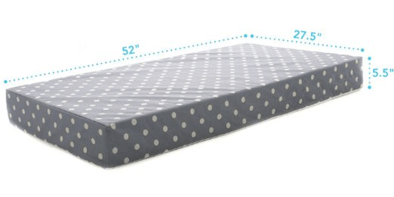 Milliard Crib and Toddler Bed Mattress Dimensions