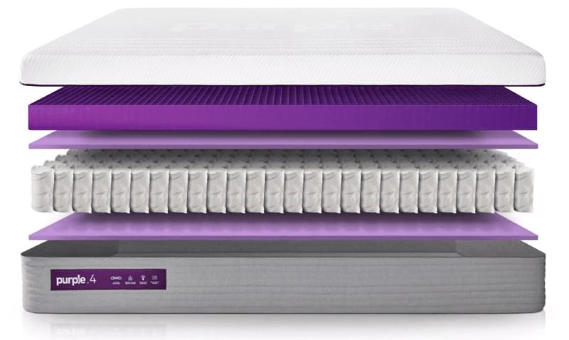 New Purple Mattress Interior