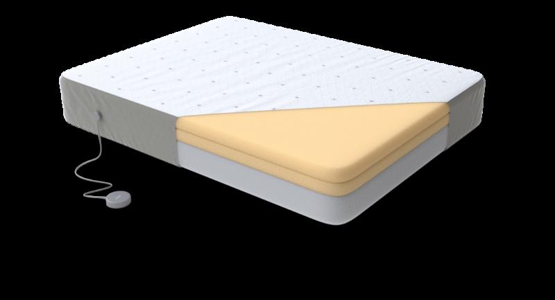 Eight Saturn+ smart mattress interior