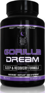Gorilla Dream bottle brand label