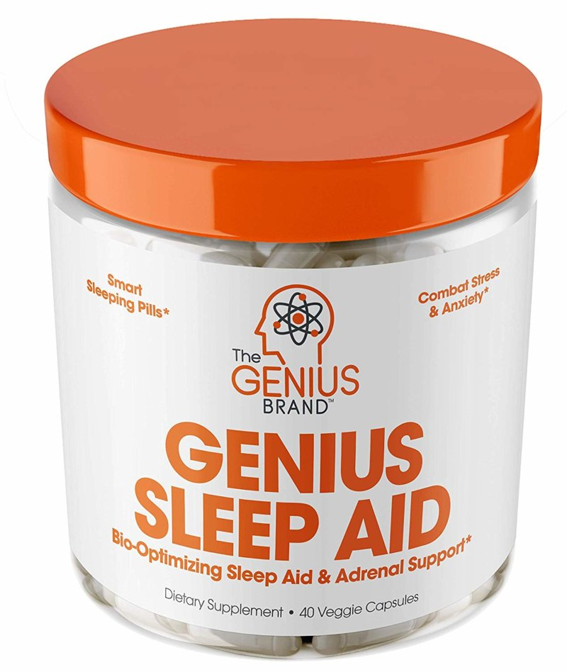 Genius Sleep Aid bottle front