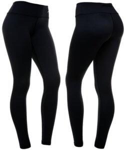 black compression leggings for women