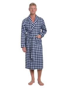 Noble Mount Men's Flannel Robe